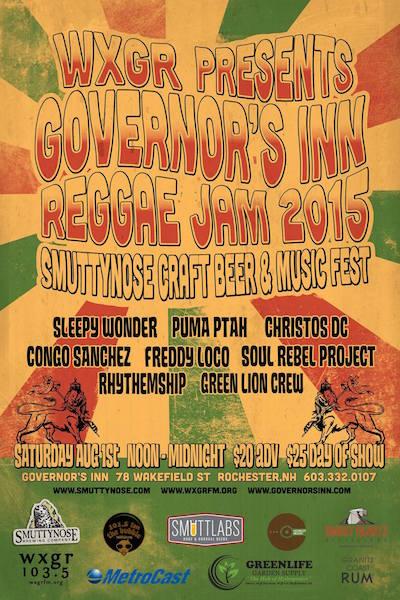 Governor's Inn Reggae Jam 2015
