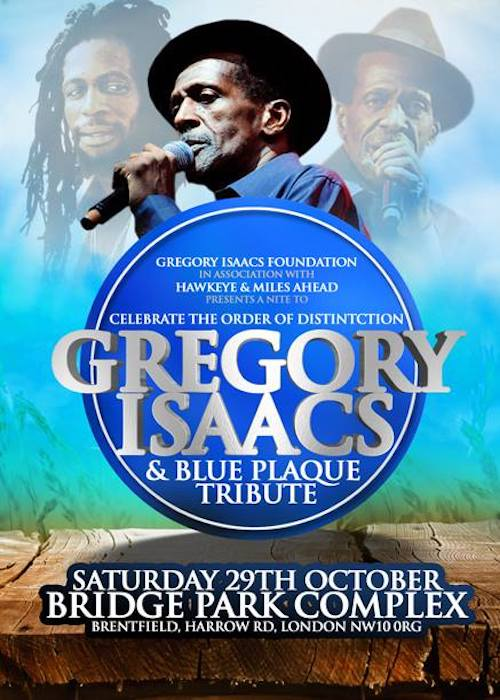 Gregory Isaacs - Order of Distinction & Blue Plaque Tribute 2016