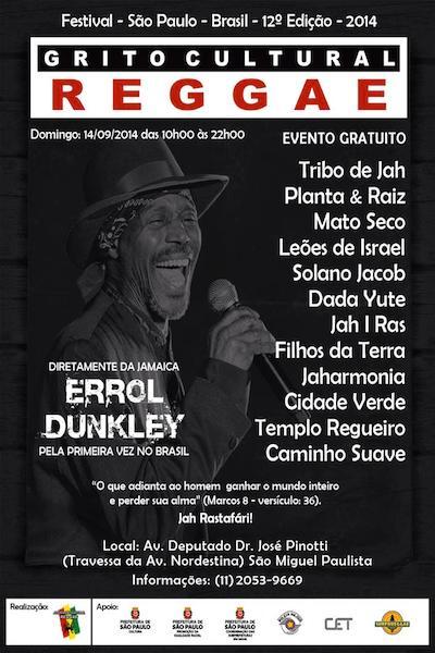 Grito Cultural Reggae 2014