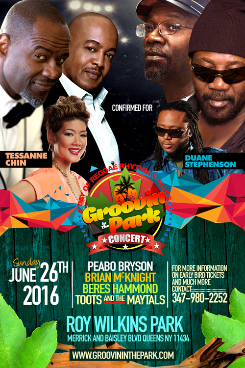 Groovin In The Park 2016