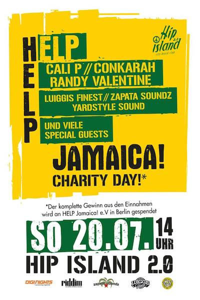 HELP Jamaica Charity Day 2014