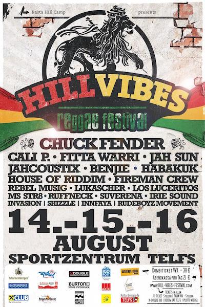 Hill Vibes Reggae Festival 2015