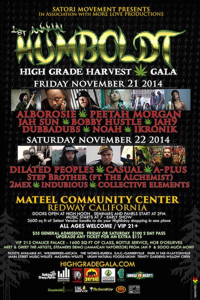 Humboldt High Grade Harvest Gala 2014