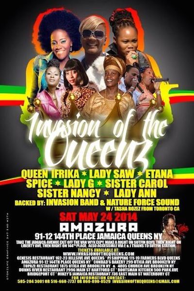 Invasion Of The Queens 2014