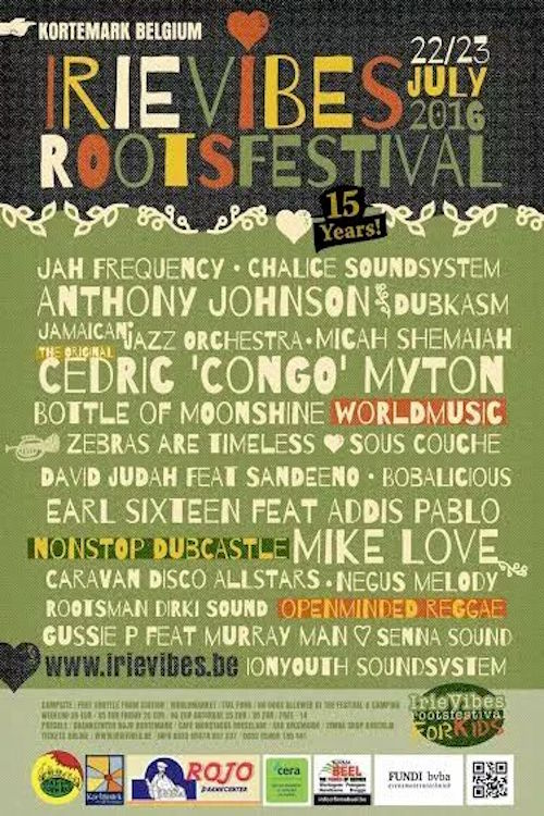 Irie Vibes Roots Festival 2016