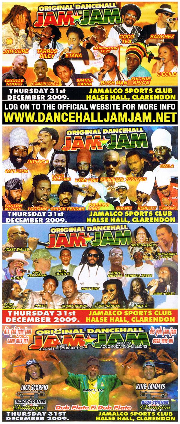 Dancehall JamJam 2009