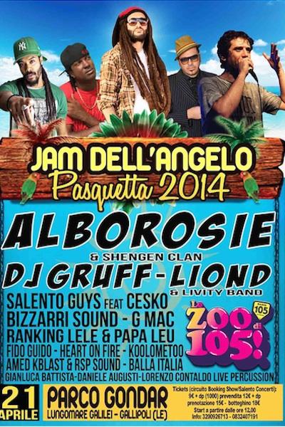 Jam Dell`Angelo Pasquetta 2014
