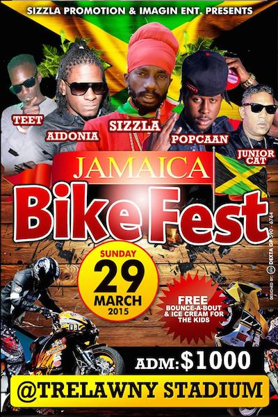 Jamaica Bike Fest 2015