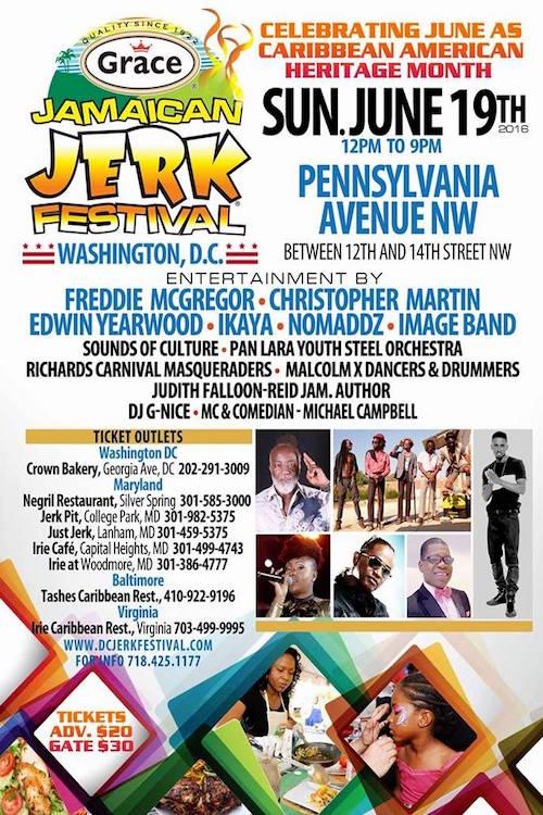 Jamaican Jerk Festival - Washington 2016