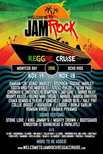 Jamrock Cruise 2020.Years Welcome To Jamrock Reggae Cruise 2020