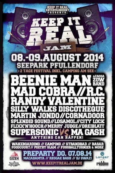 Keep It Real Jam 2014