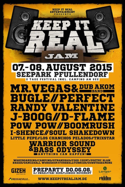Keep It Real Jam 2015