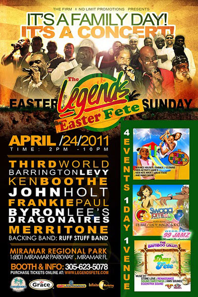 The Legends Easter Fete