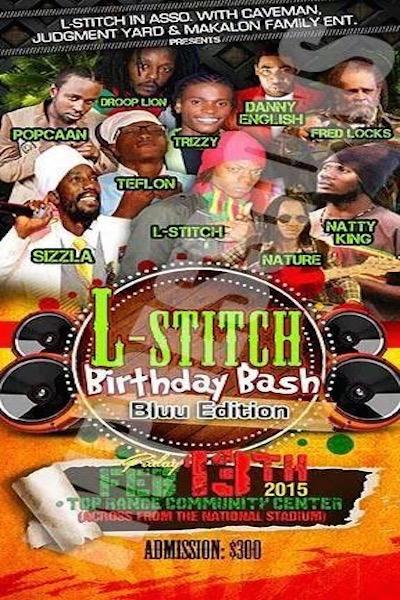 L-Stitch Birthday Bash