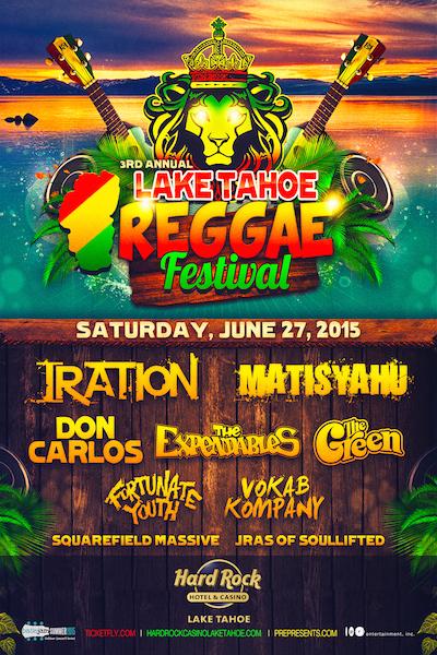 Lake Tahoe Reggae Festival 2015