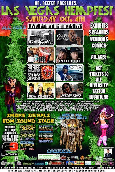 Las Vegas Hempfest 2014