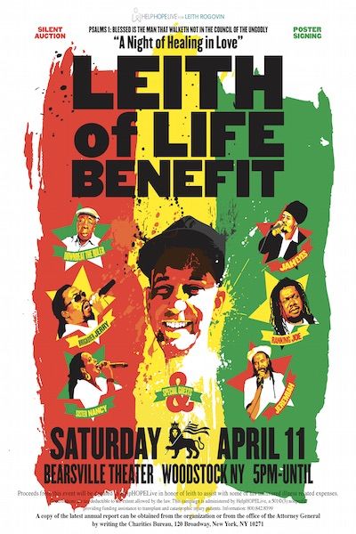 Leith Of Life Benefit