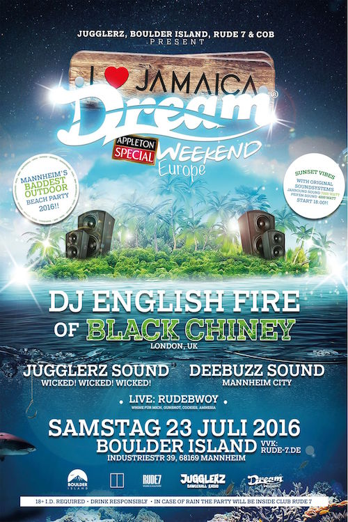 I Love Jamaica Dream Weekend Europe 2016