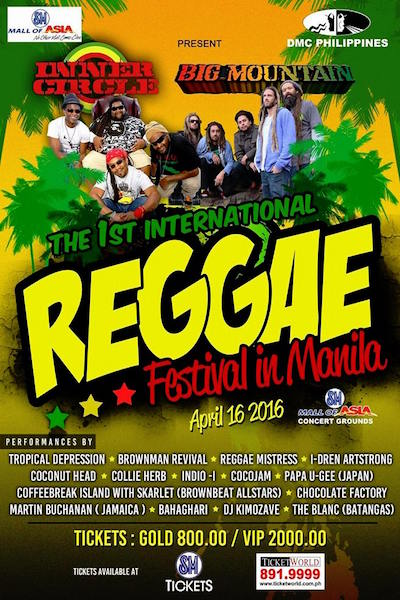 International Reggae Music Festival 2016