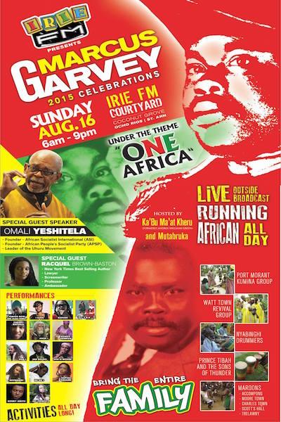 Marcus Garvey Celebrations 2015