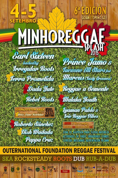 Minhoreggae Splash 2015