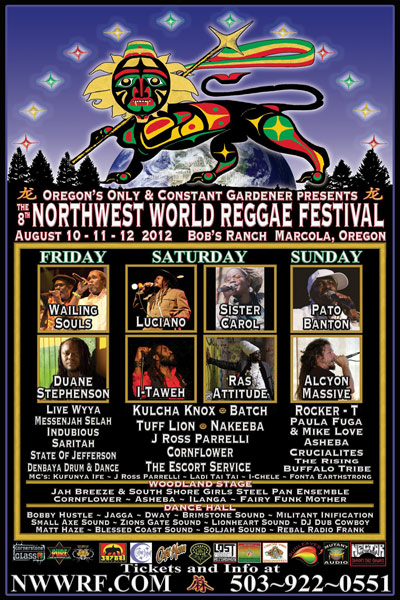 NW World Reggae Festival 2012