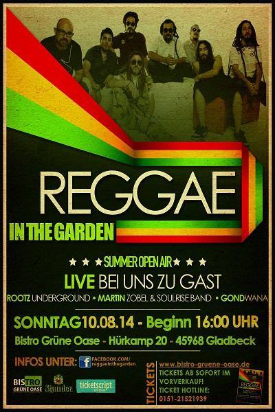 Reggae In The Garden 2014