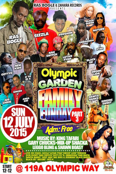 Olympic Garden Family Funday 2015