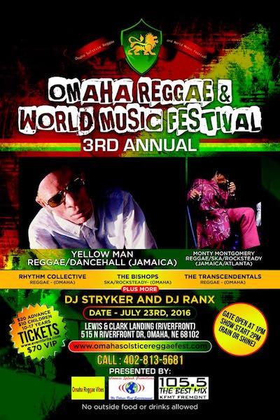 Omaha Reggae & World Music Festival 2016