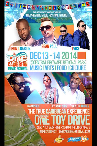 One Caribbean Music Festival 2014