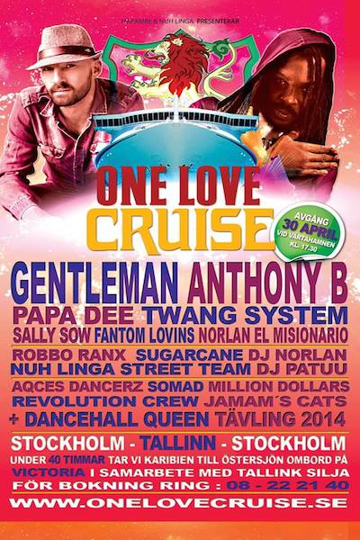 One Love Cruise 2014