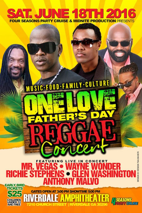 One Love Father's Day Reggae Concert 2016