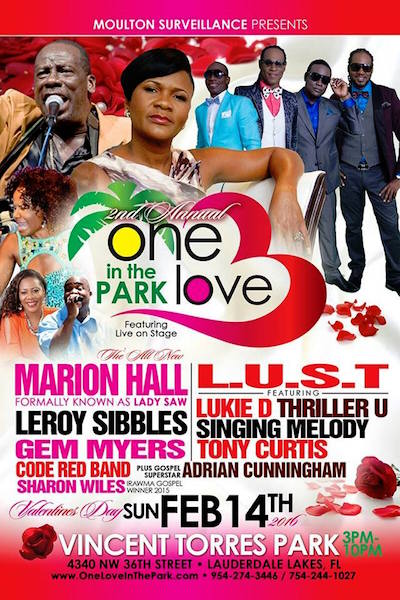 One Love In The Park 2016