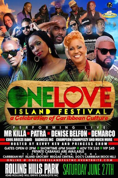 One Love Island Festival 2015