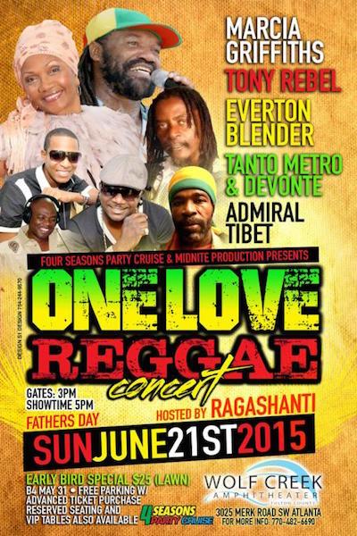 One Love Reggae Concert 2015