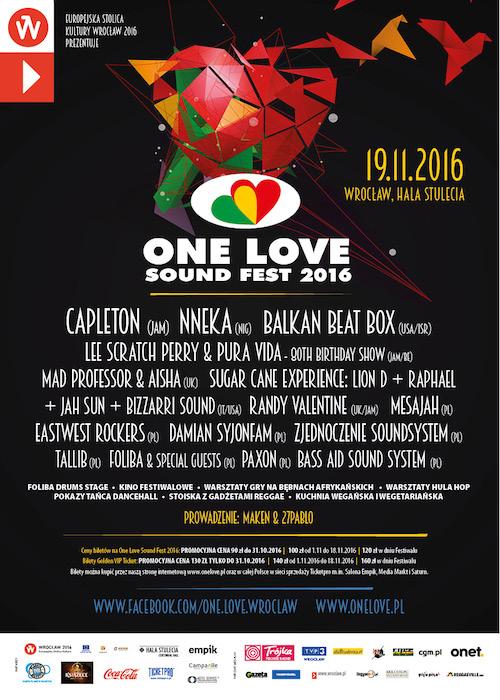 One Love Sound Fest 2016