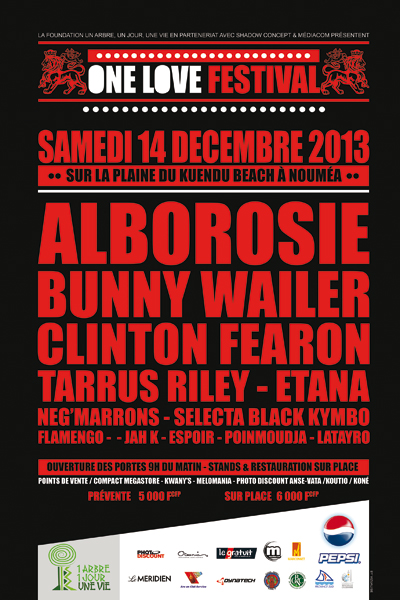 One Love Festival 2013 - New Caledonia