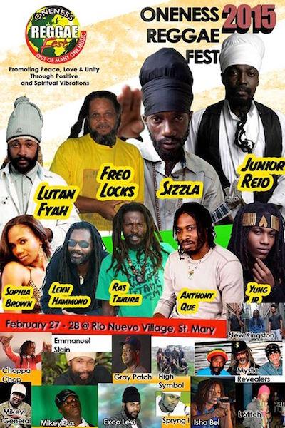 POSTPONED: Oneness Reggae Fest 2015