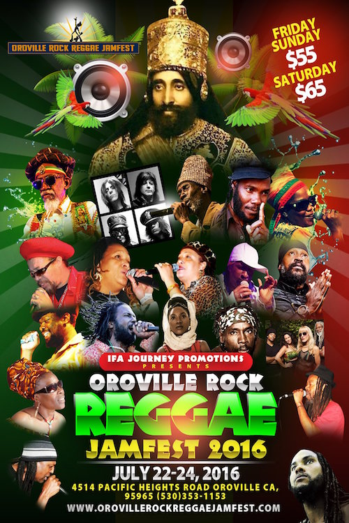Oroville Rock Reggae Jamfest 2016