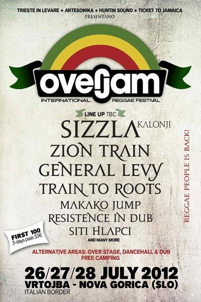 Overjam Reggae Festival 2012