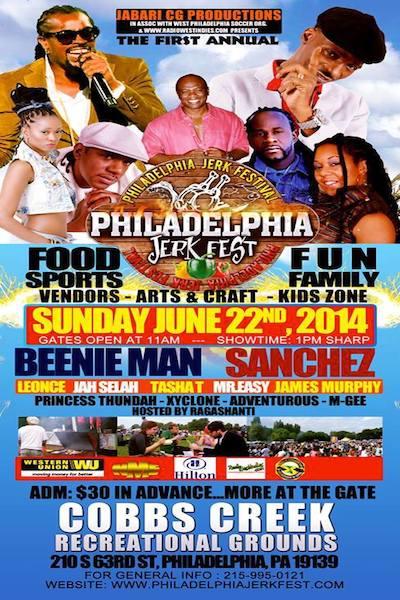 CANCELLED: Philadelphia Jerk Festival 2014