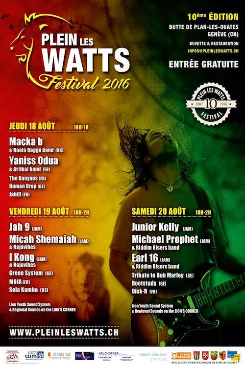 Plein Les Watts Festival 2016