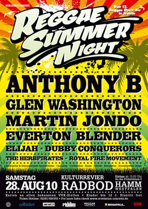 Reggae Summer Night 2010