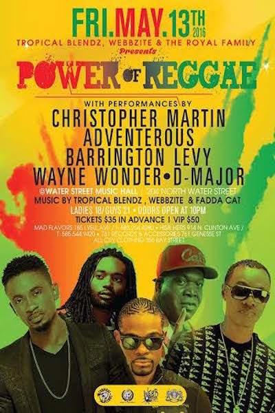 Power Of Reggae 2016