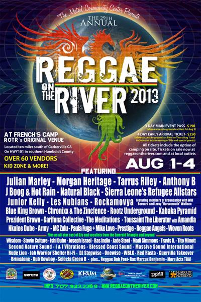 Reggae On The River 2013
