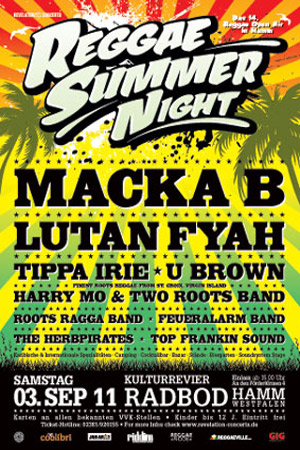 Reggae Summer Night 2011