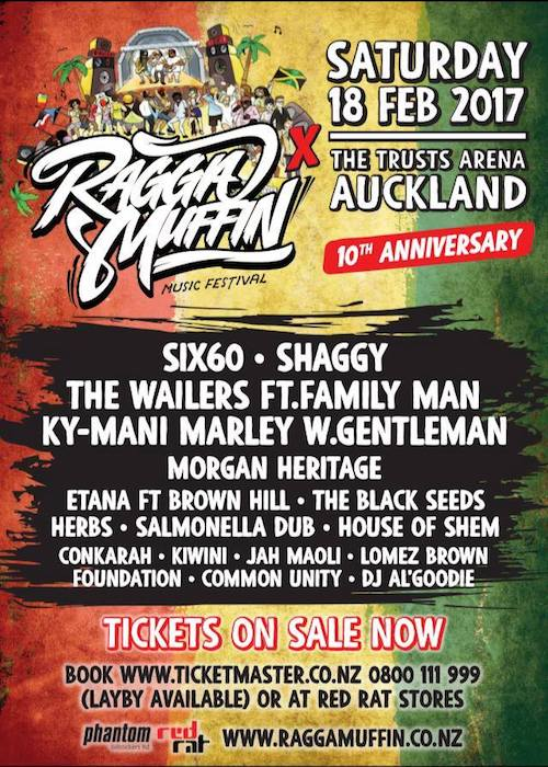 Raggamuffin Festival 2017