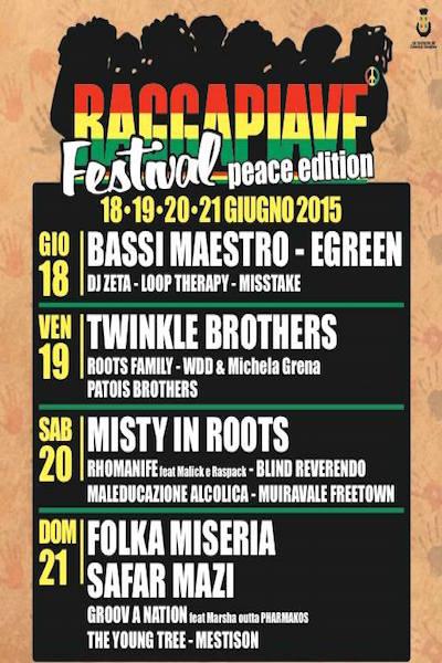 RaggaPiave Festival 2015