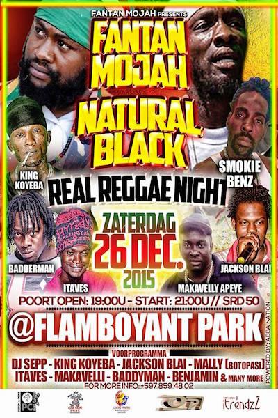 Real Reggae Night 2015