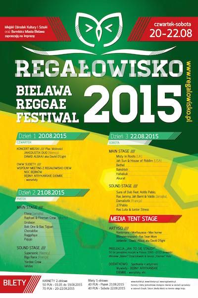 Regalowisko Bielawa Reggae Festival 2015